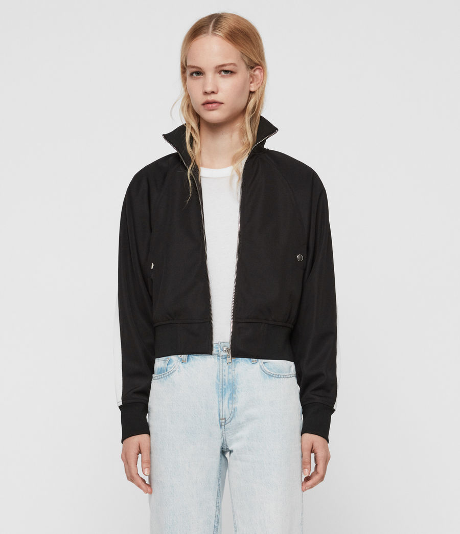 Women's Marty Track Jacket (black) - Image 4