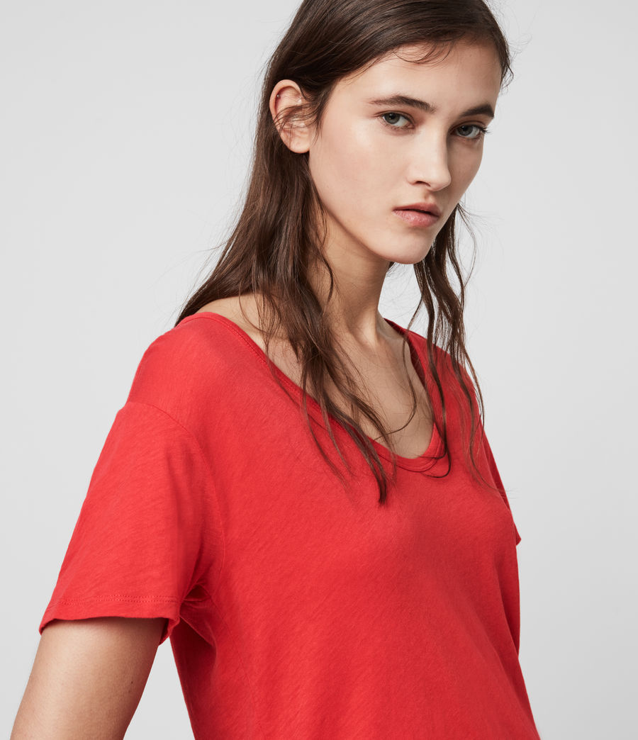 Mujer Mia Fifi T-Shirt (red) - Image 2