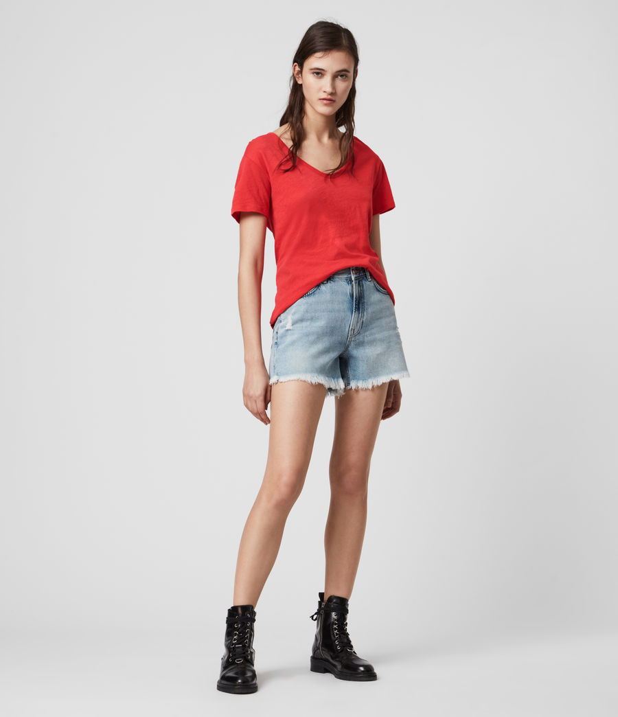 Mujer Mia Fifi T-Shirt (red) - Image 3