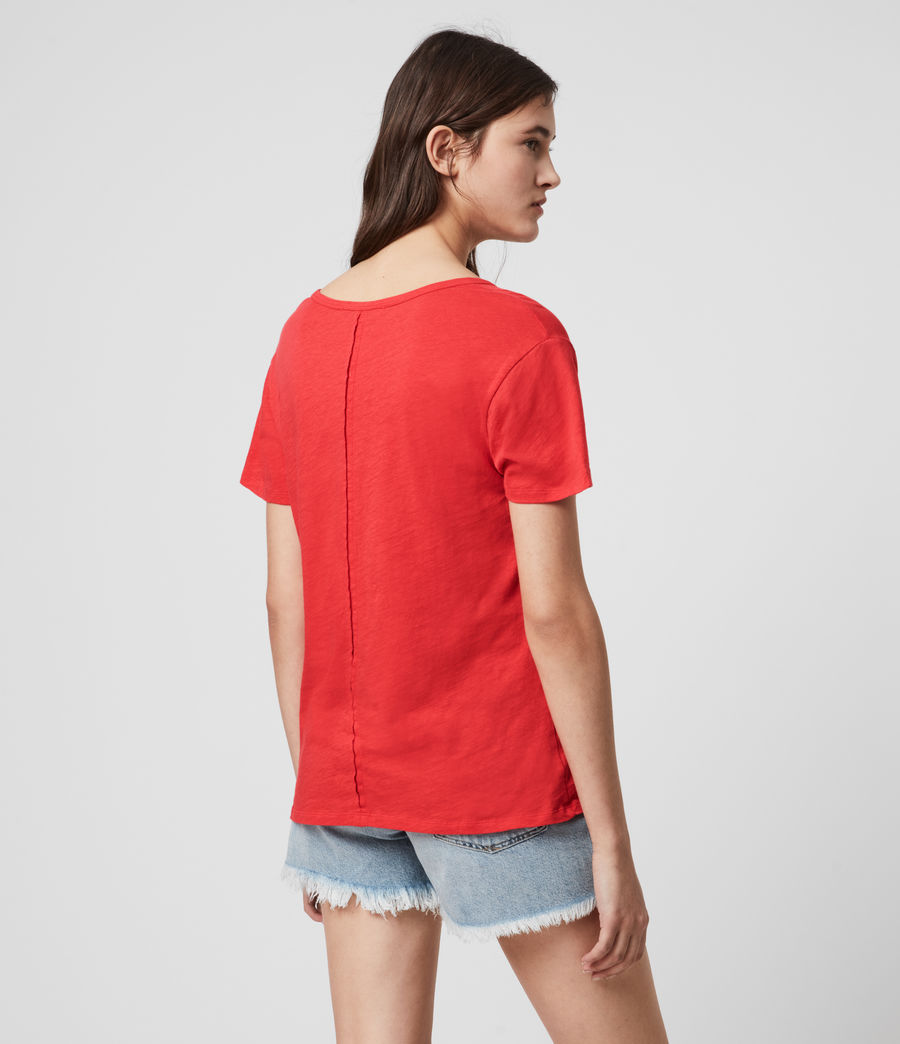Mujer Mia Fifi T-Shirt (red) - Image 5