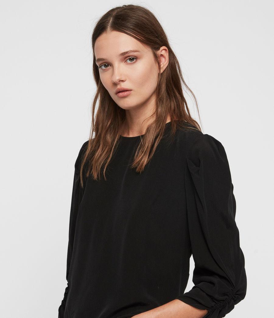 Women's Josephine Top (black) - Image 2