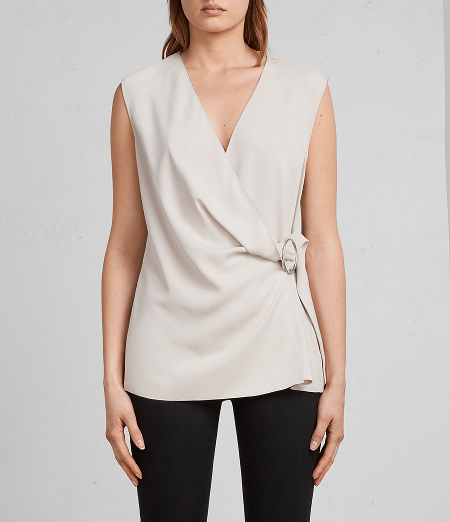 Womens Callie Top (pale_pink) - Image 1