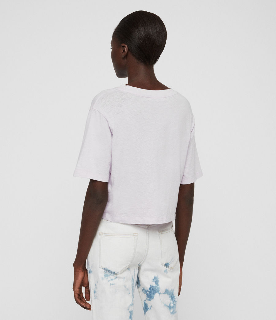 Damen Benno T-Shirt (chalk_white) - Image 5