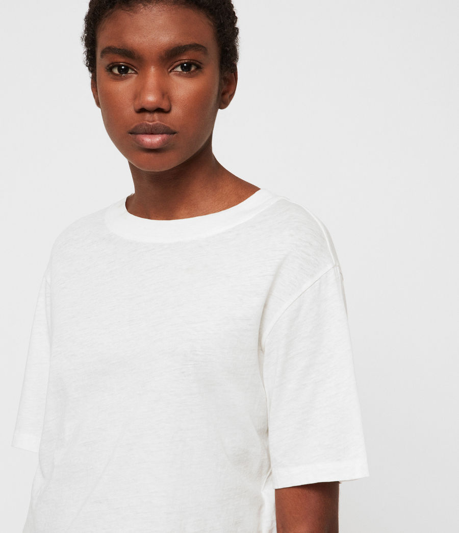 Womens Benno T-Shirt (chalk_white) - Image 3