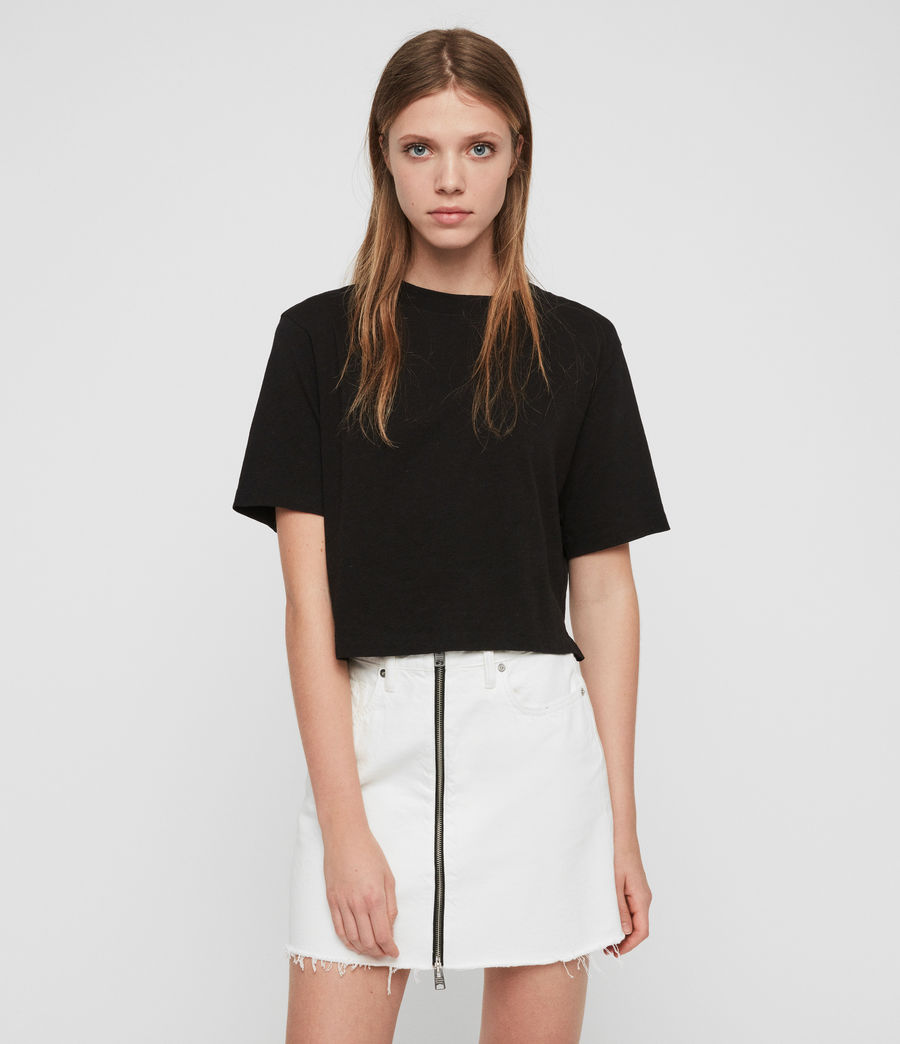 Womens Benno T-Shirt (black) - Image 1