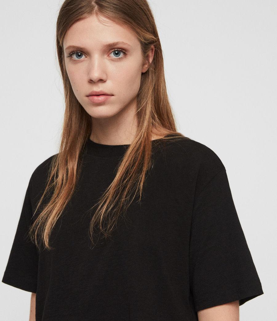 Femmes T-Shirt Benno (black) - Image 2