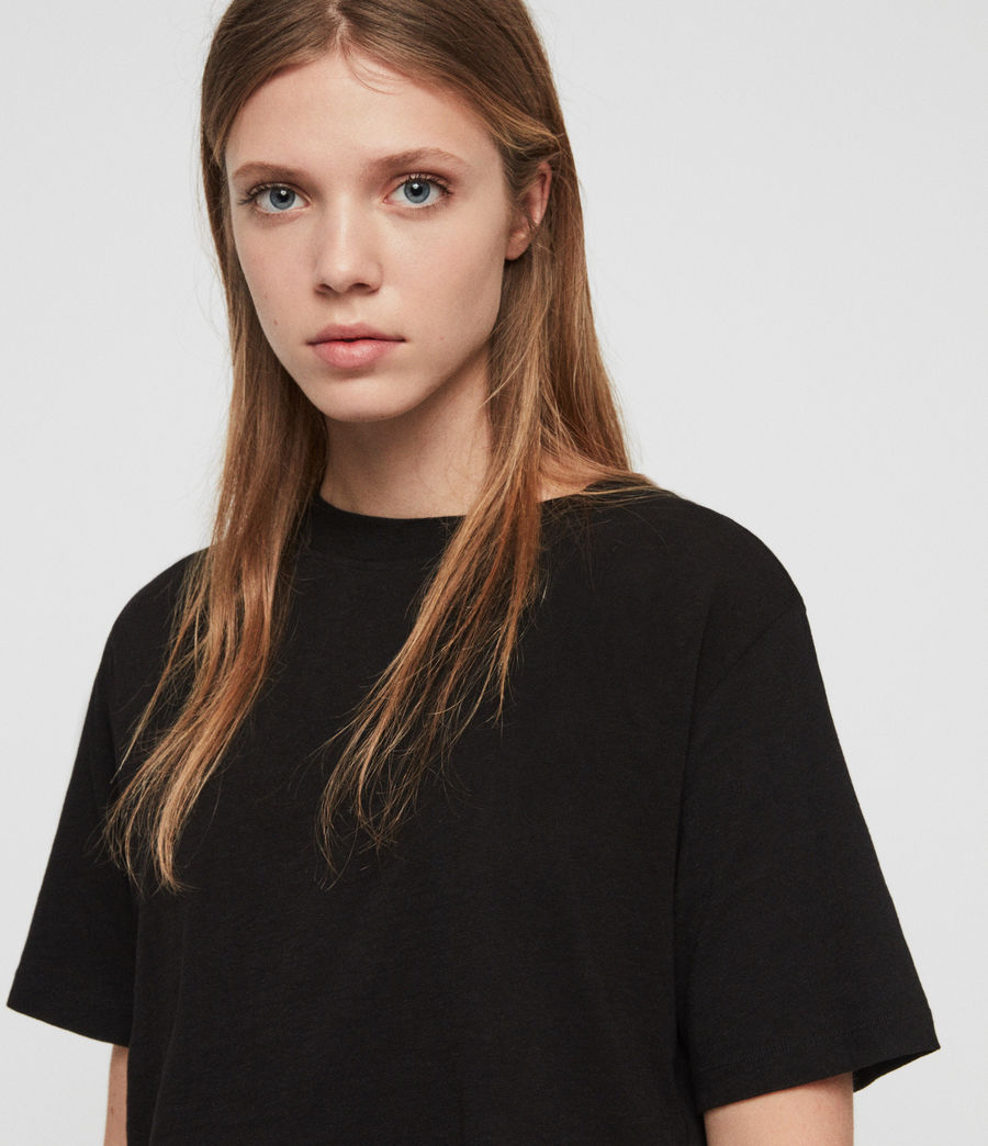 Womens Benno T-Shirt (black) - Image 2