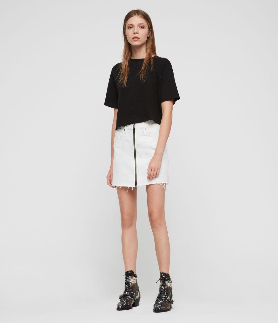 Womens Benno T-Shirt (black) - Image 3