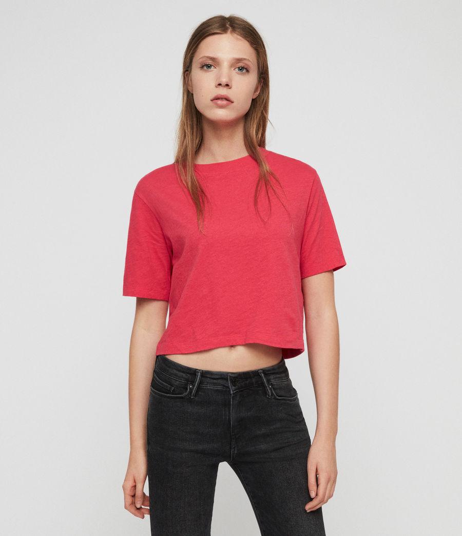 Femmes T-Shirt Benno (bright_pink) - Image 1