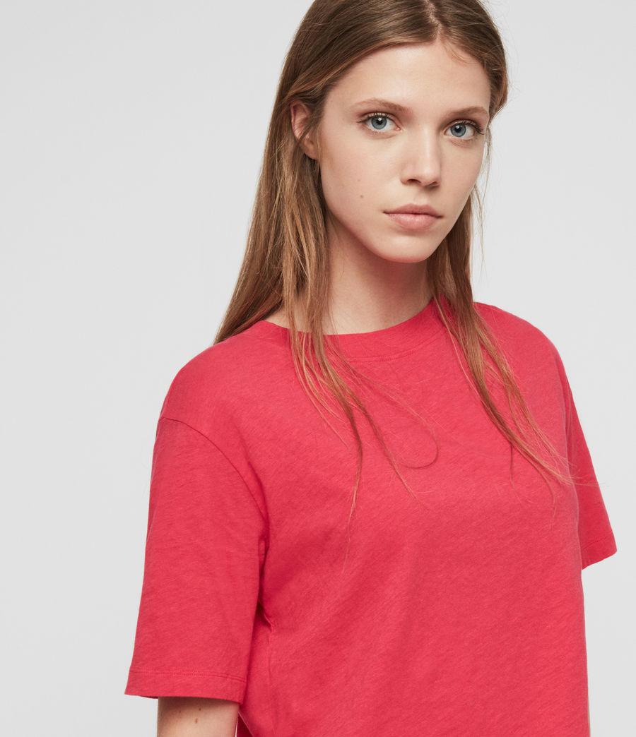 Femmes T-Shirt Benno (bright_pink) - Image 2