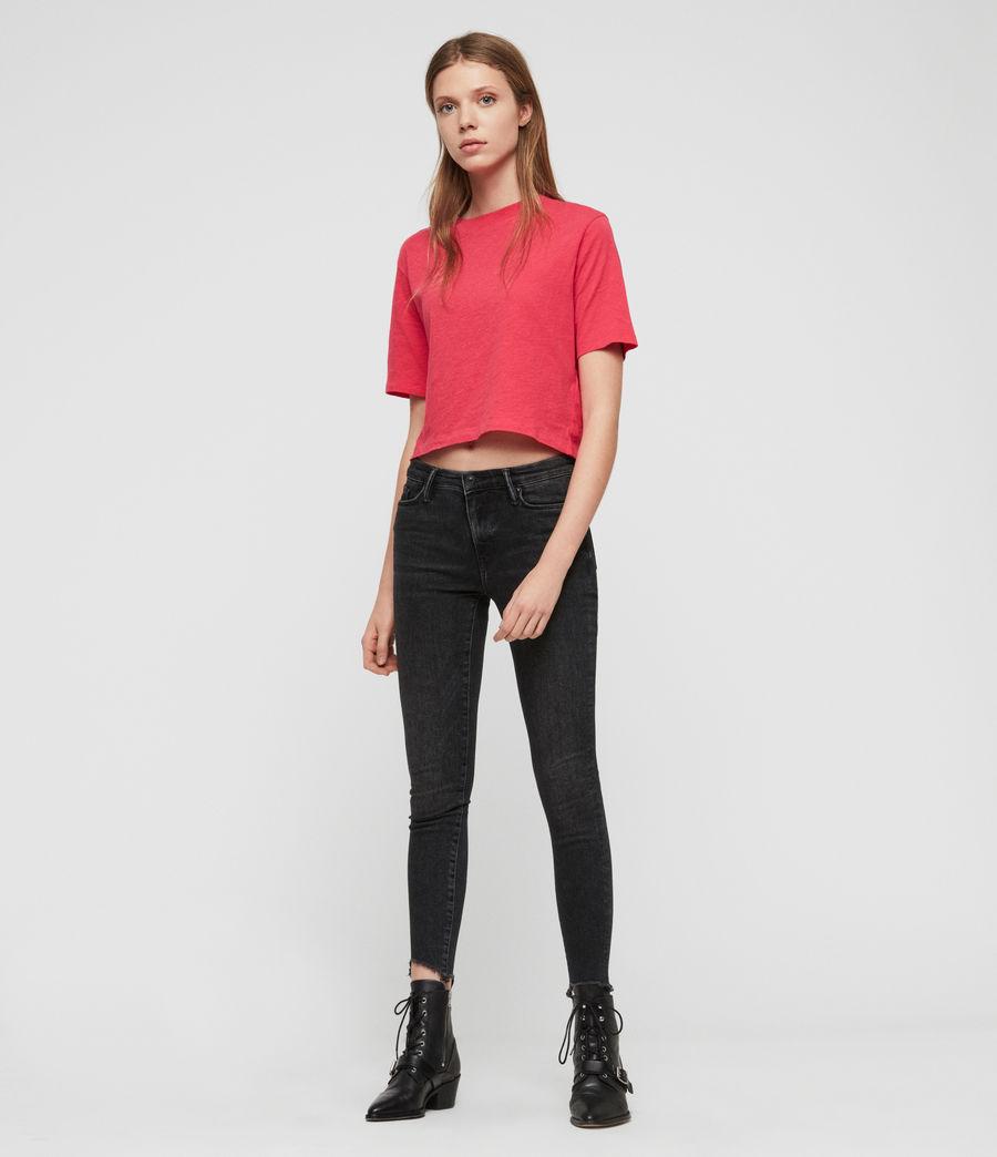 Femmes T-Shirt Benno (bright_pink) - Image 3