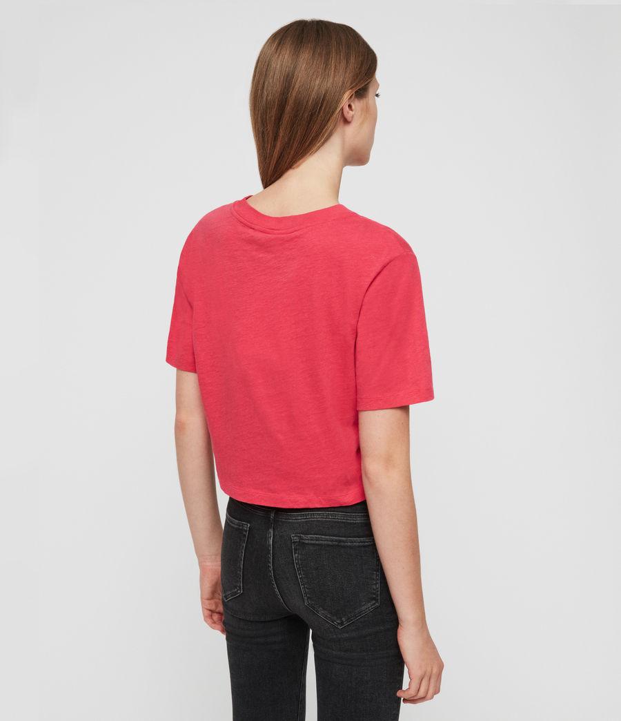 Femmes T-Shirt Benno (bright_pink) - Image 4
