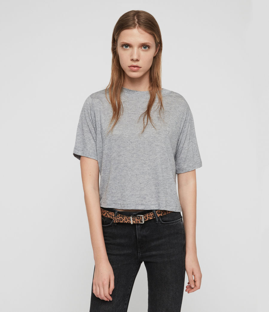 Women's Benno Cena T-Shirt (grey_marl) - Image 1