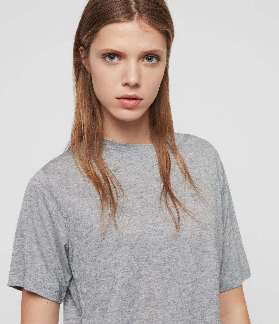 Women's Benno Cena T-Shirt (grey_marl) - Image 2