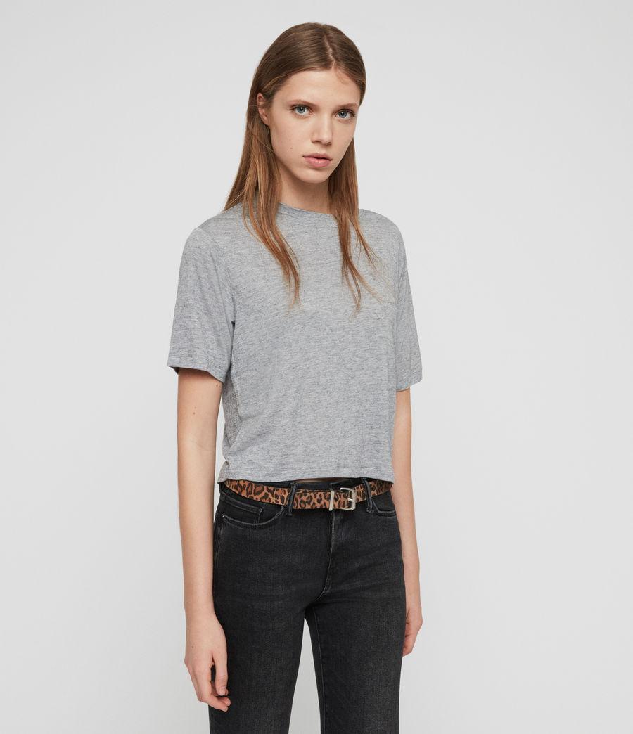 Women's Benno Cena T-Shirt (grey_marl) - Image 3