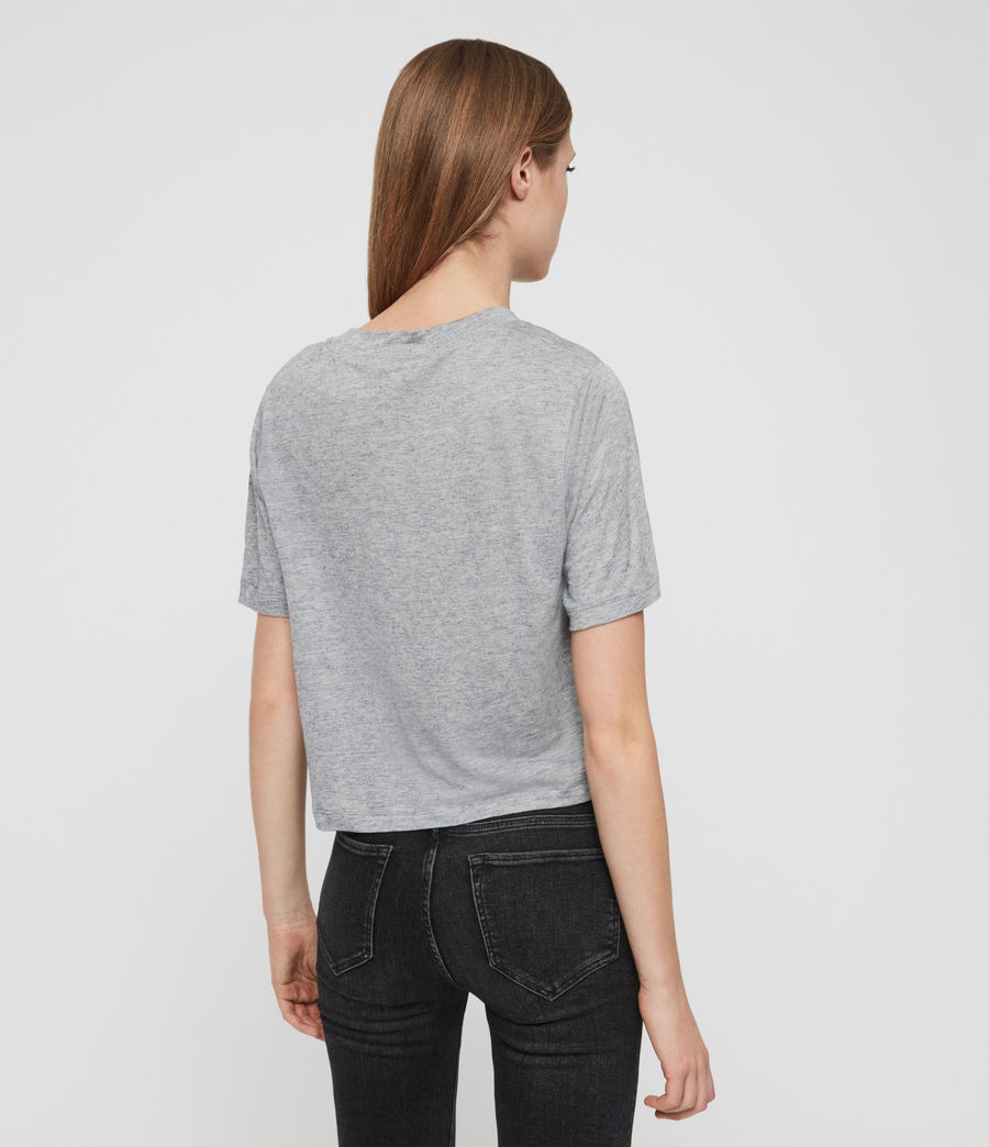 Women's Benno Cena T-Shirt (grey_marl) - Image 4