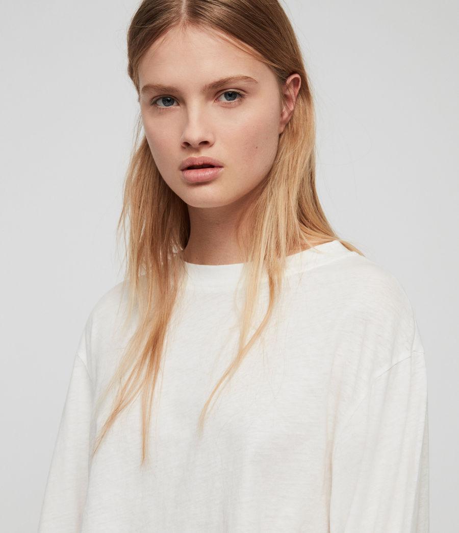 Damen Benno Langarmtop (chalk_white) - Image 2
