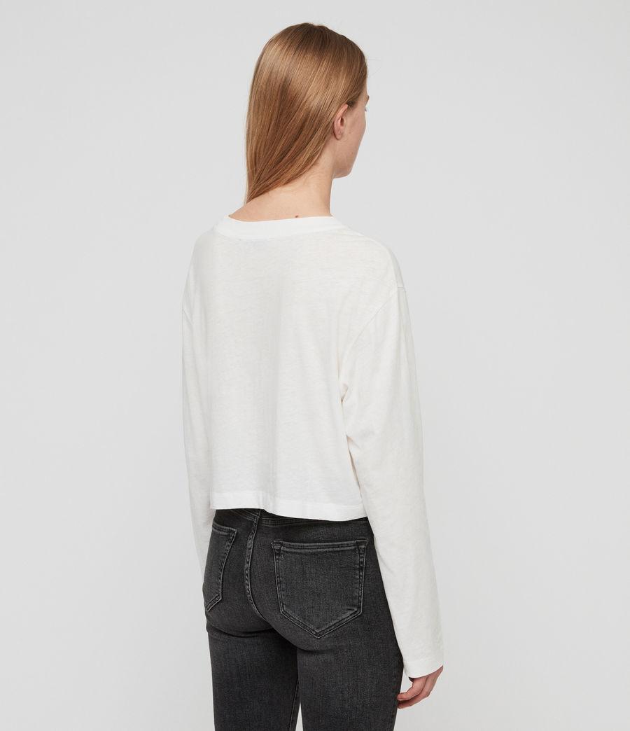 Damen Benno Langarmtop (chalk_white) - Image 6