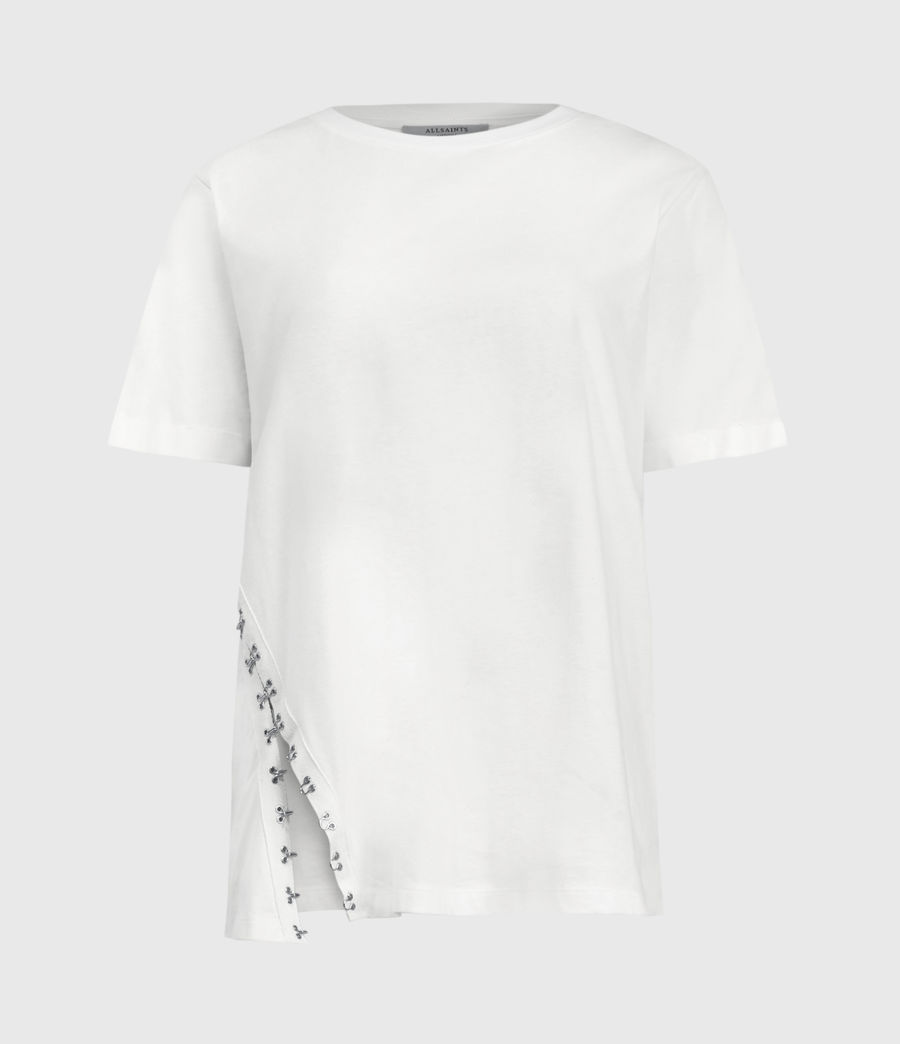 Women's Cali Hook T-Shirt (chalk_white) - Image 2