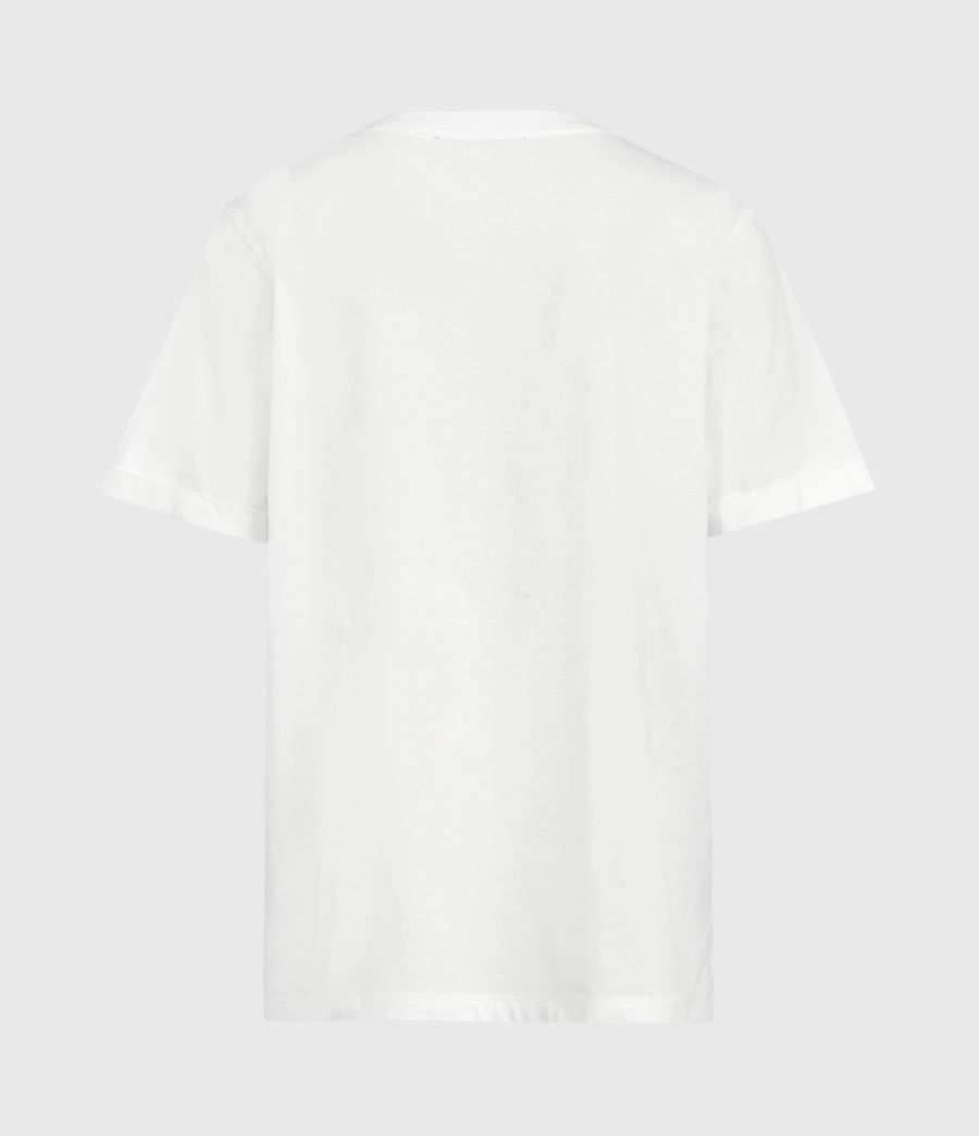 Women's Cali Hook T-Shirt (chalk_white) - Image 3