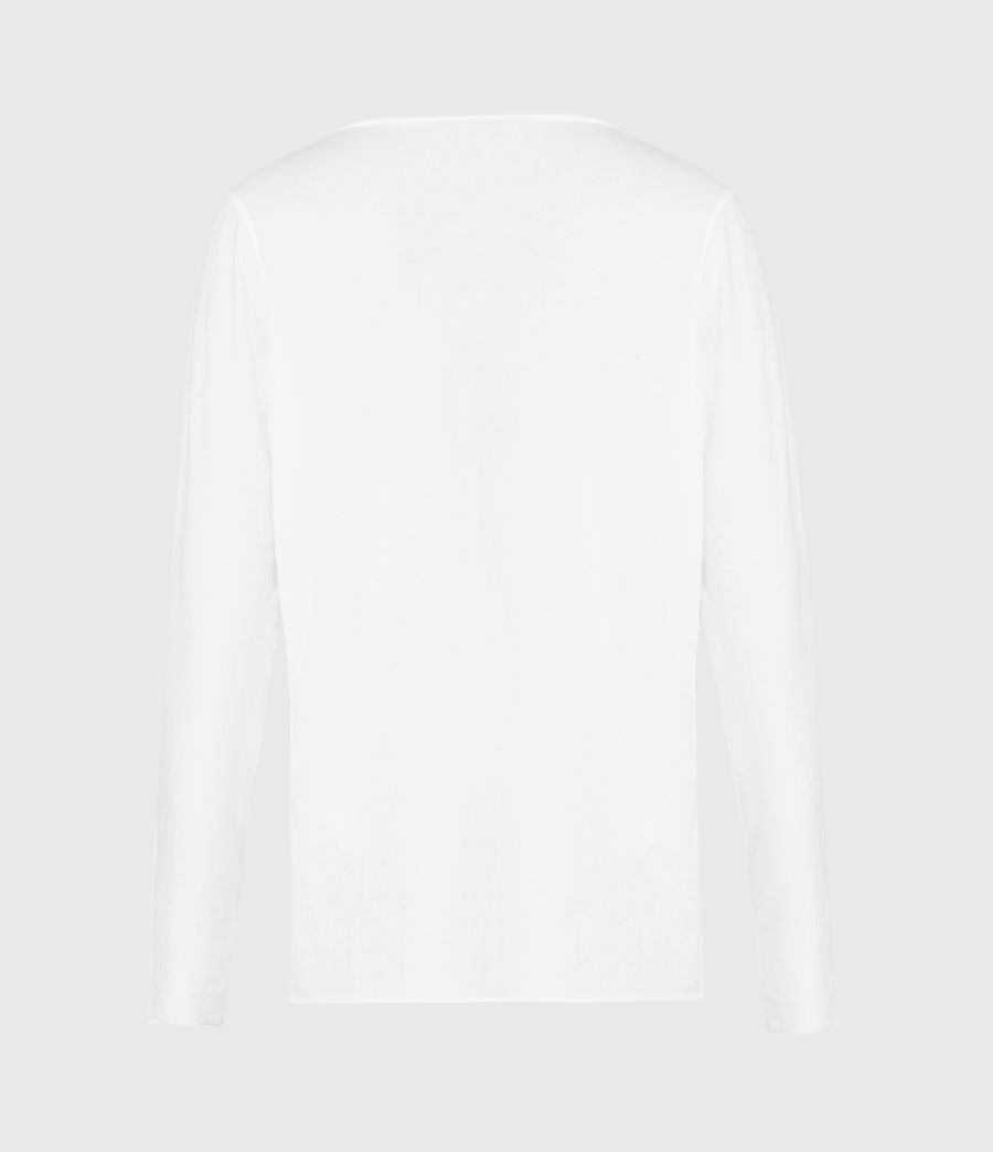 Women's Emelyn Tonic Long Sleeve T-Shirt (chalk_white) - Image 3