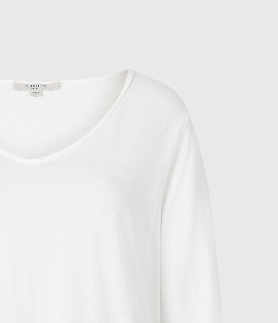 Women's Emelyn Tonic Long Sleeve T-Shirt (chalk_white) - Image 5