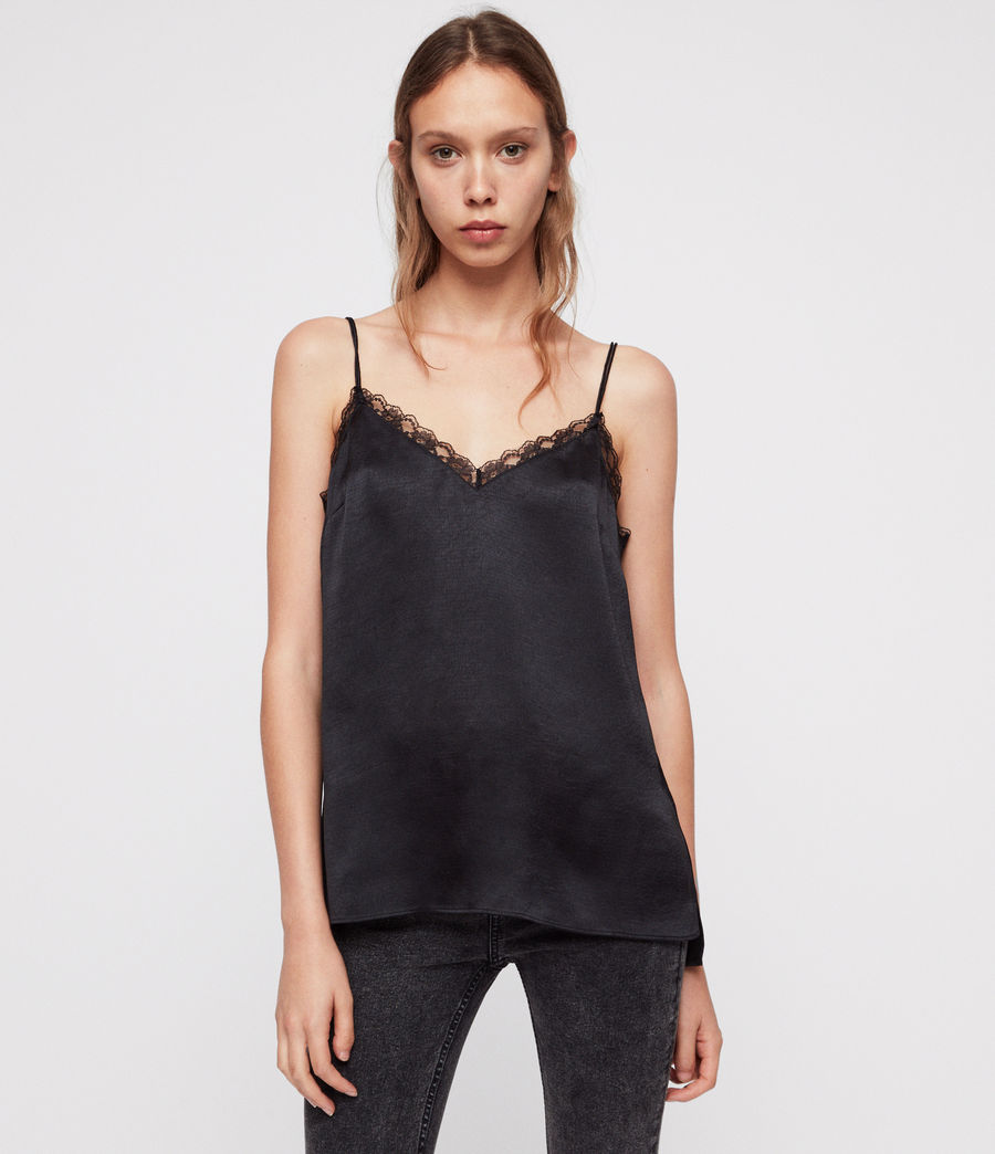 Women's Nia Top (black) - Image 1