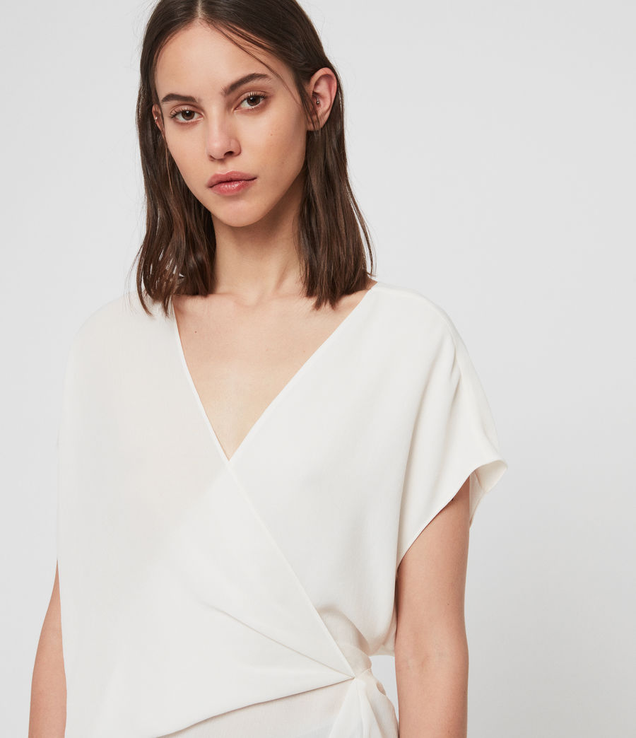 Women's Mia Top (chalk_white) - Image 2