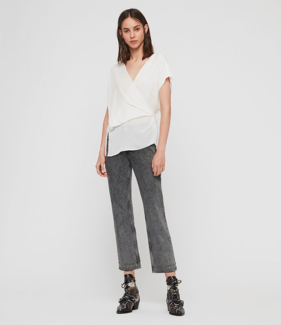 Women's Mia Top (chalk_white) - Image 3