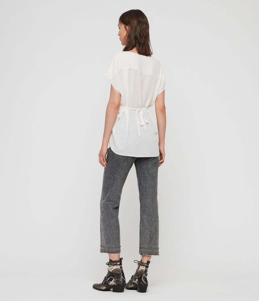 Women's Mia Top (chalk_white) - Image 5