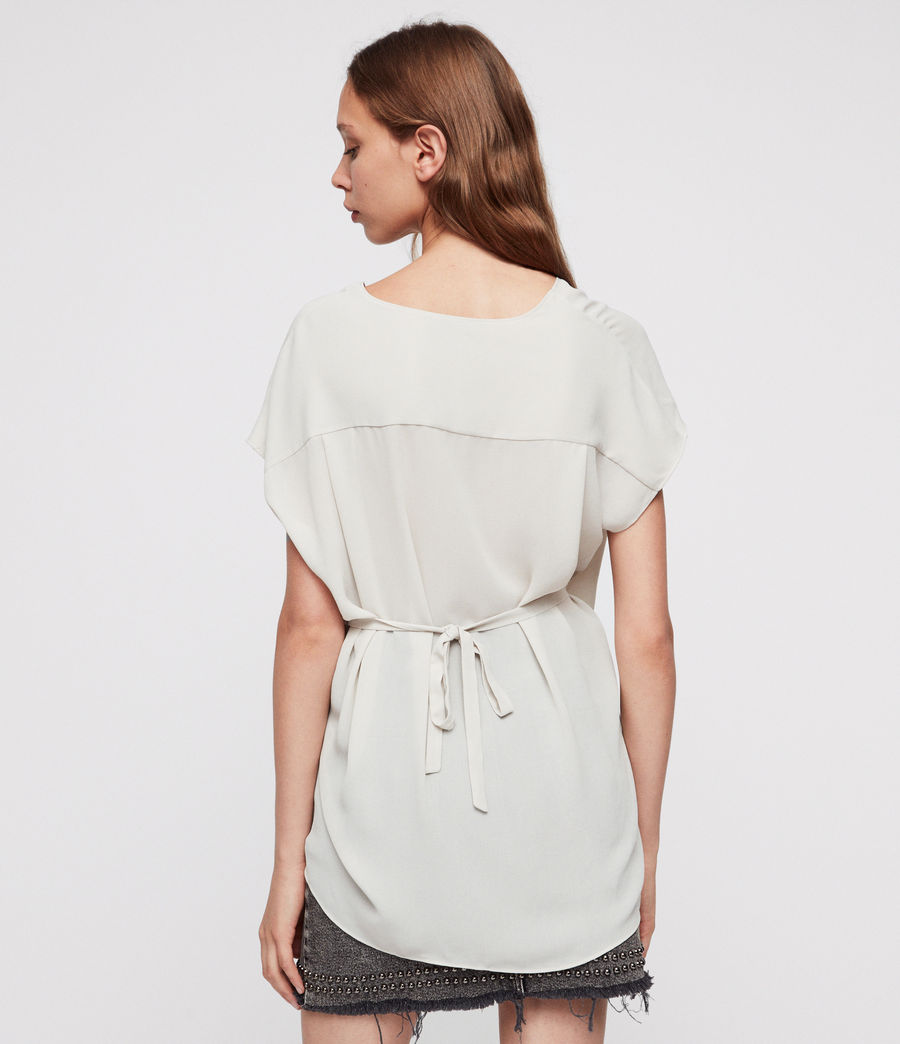 Damen Mia Top (stone_white) - Image 4