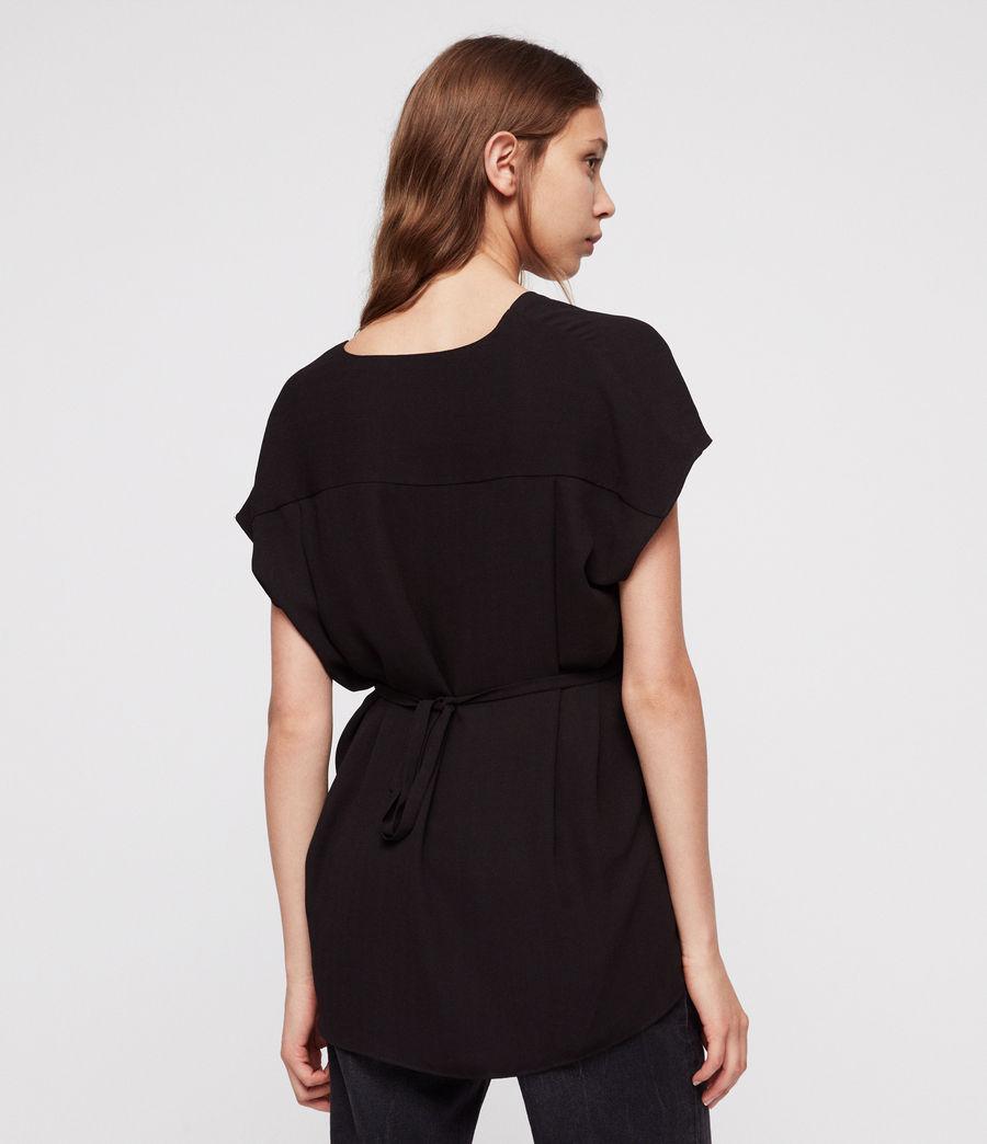 Women's Mia Top (black) - Image 2