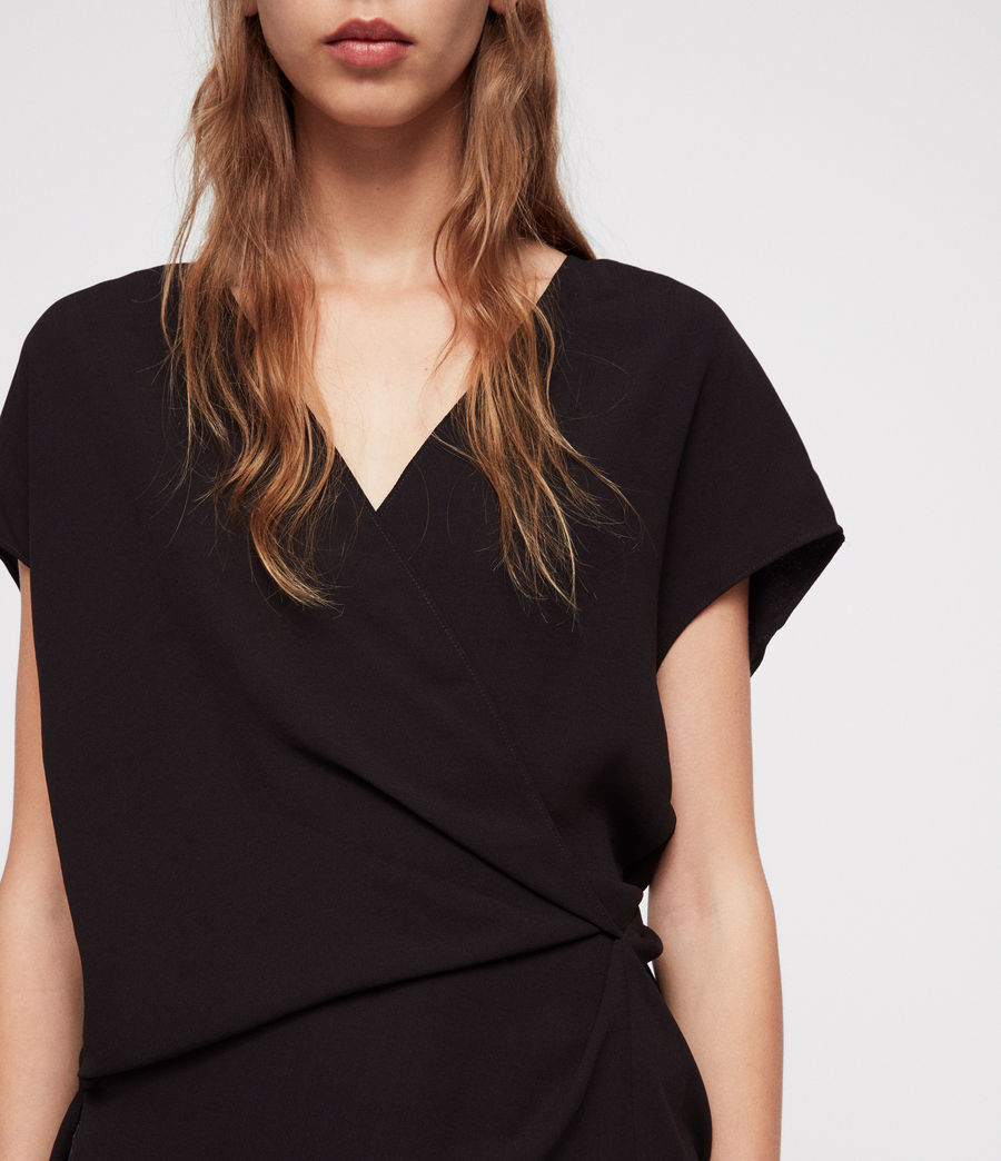 Women's Mia Top (black) - Image 3