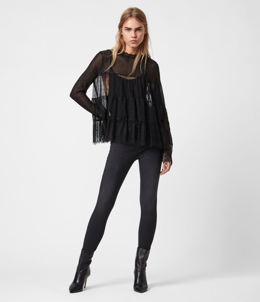 Donne Briella Top (black) - Image 1