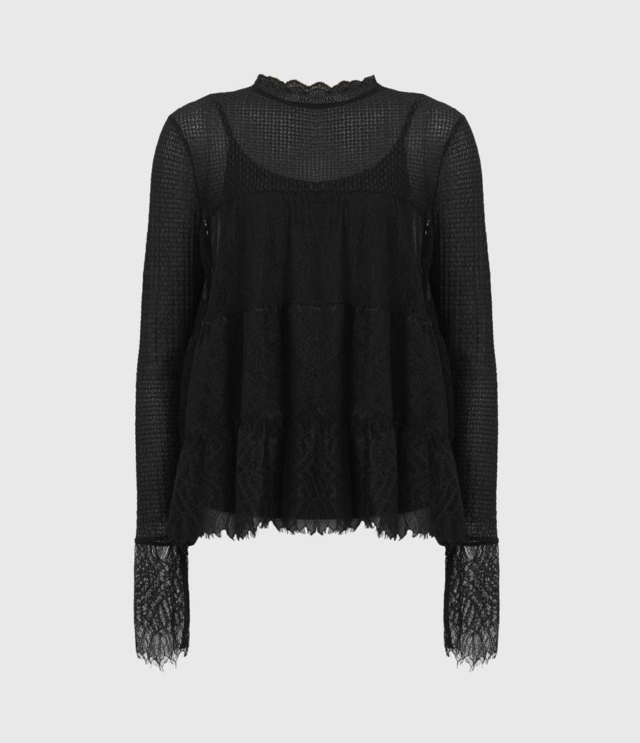 Donne Briella Top (black) - Image 2