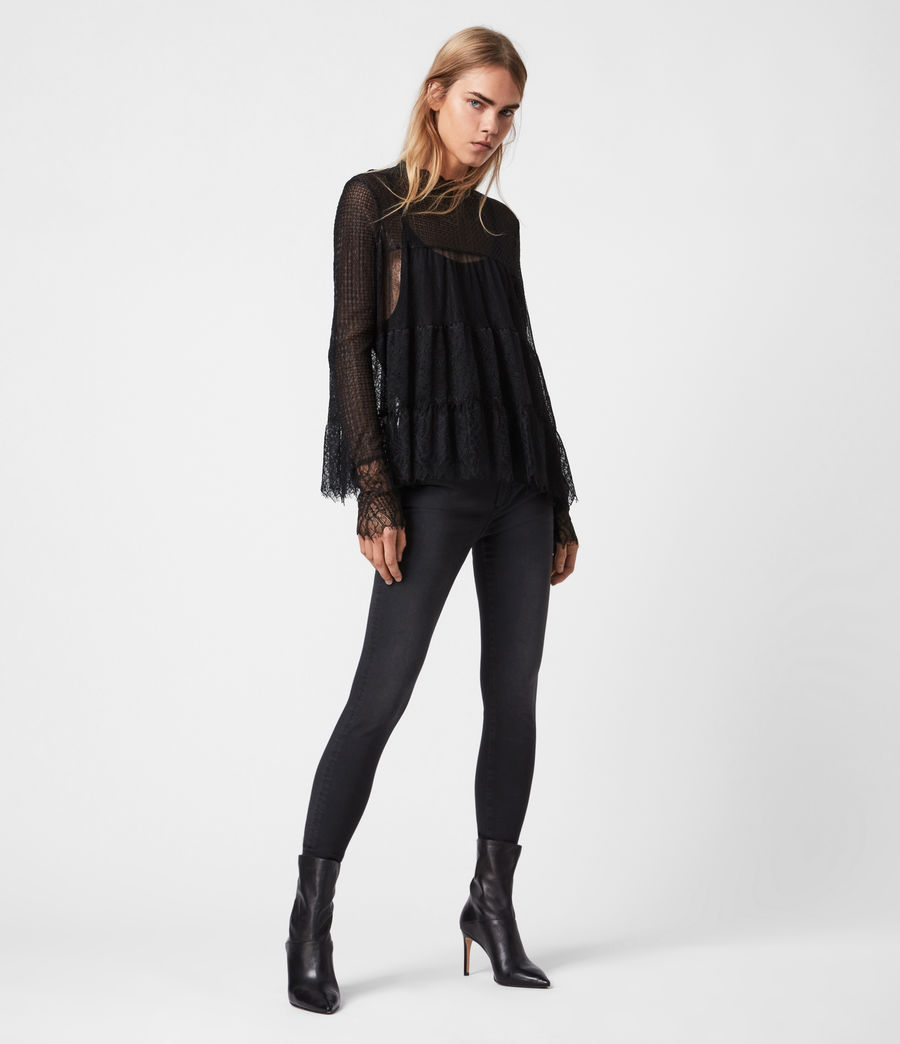 Donne Briella Top (black) - Image 4
