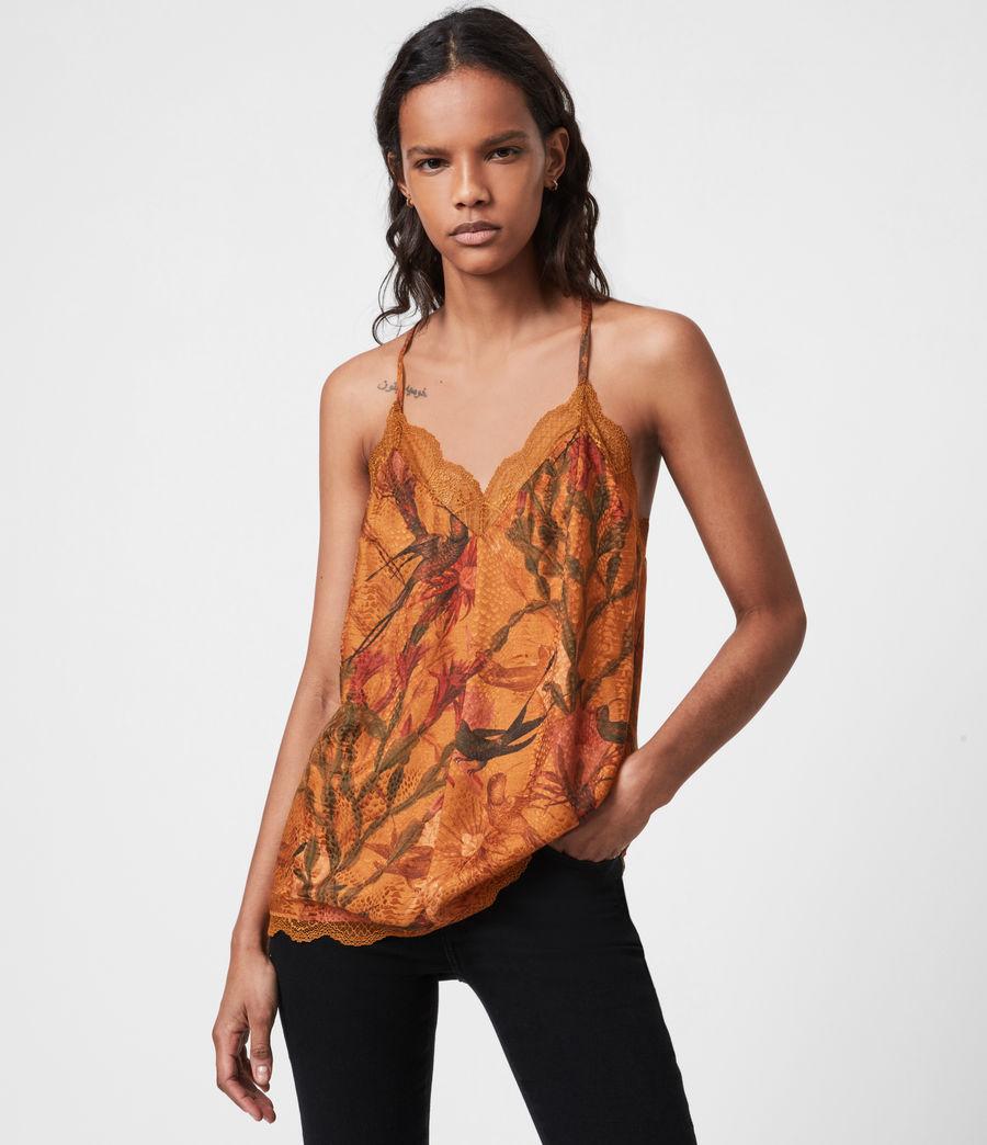Damen Seinie Nolina Top (cinnamon_brown) - Image 1
