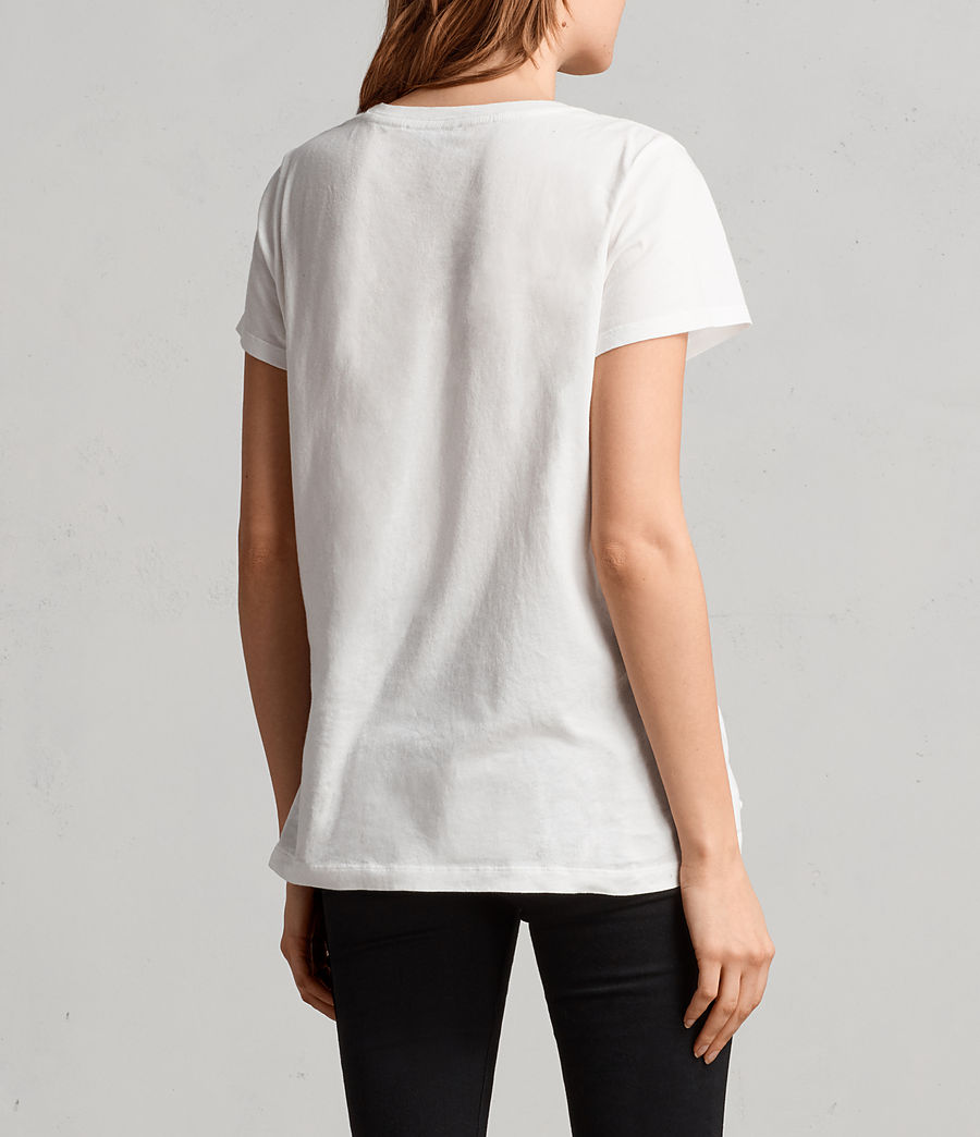 Donne T-shirt Arie (chalk_white) - Image 4