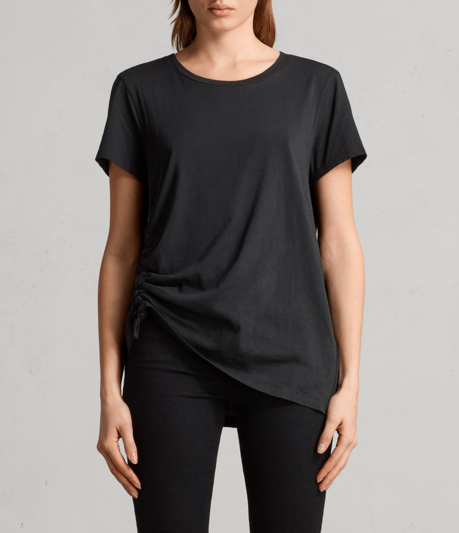 Damen Arie T-Shirt (black) - Image 1