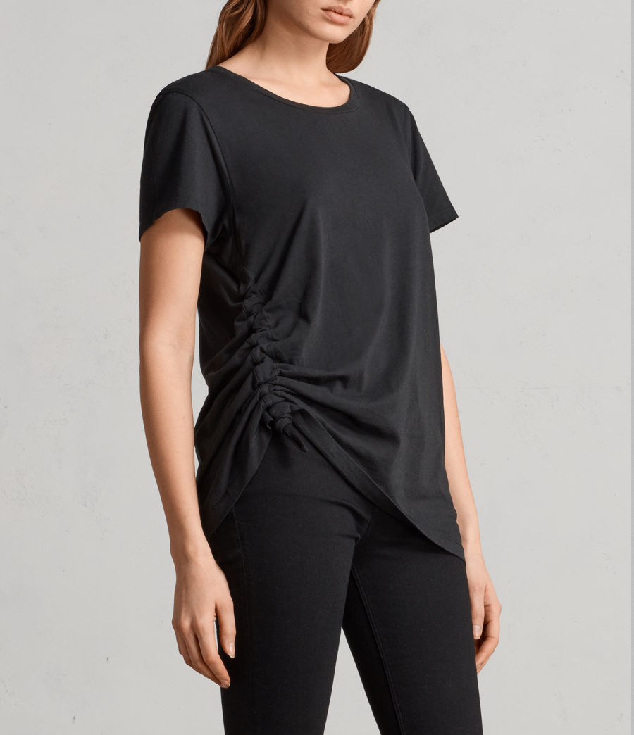 Damen Arie T-Shirt (black) - Image 3