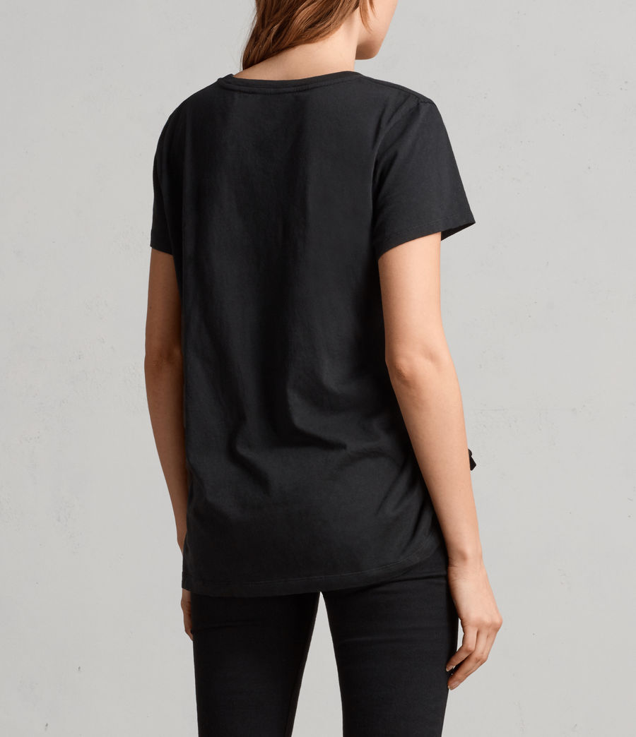 Damen Arie T-Shirt (black) - Image 4