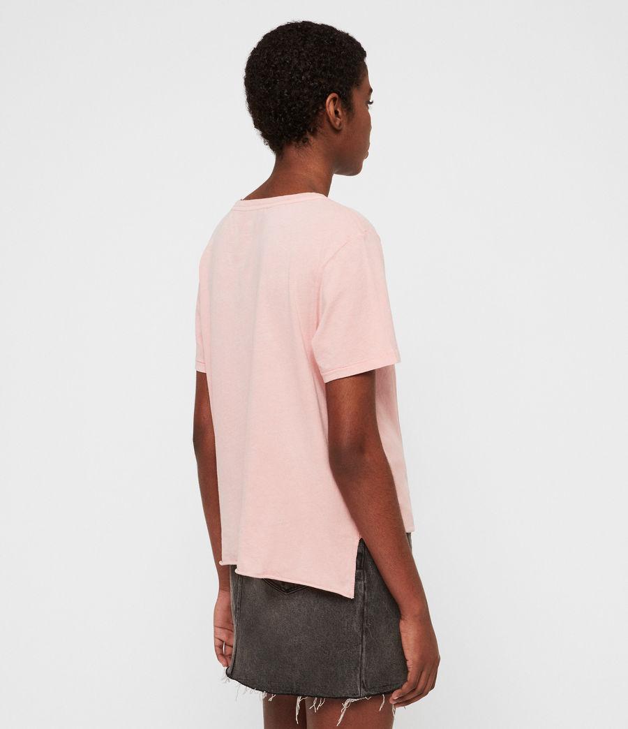 Damen Wilma T-Shirt (pink) - Image 4