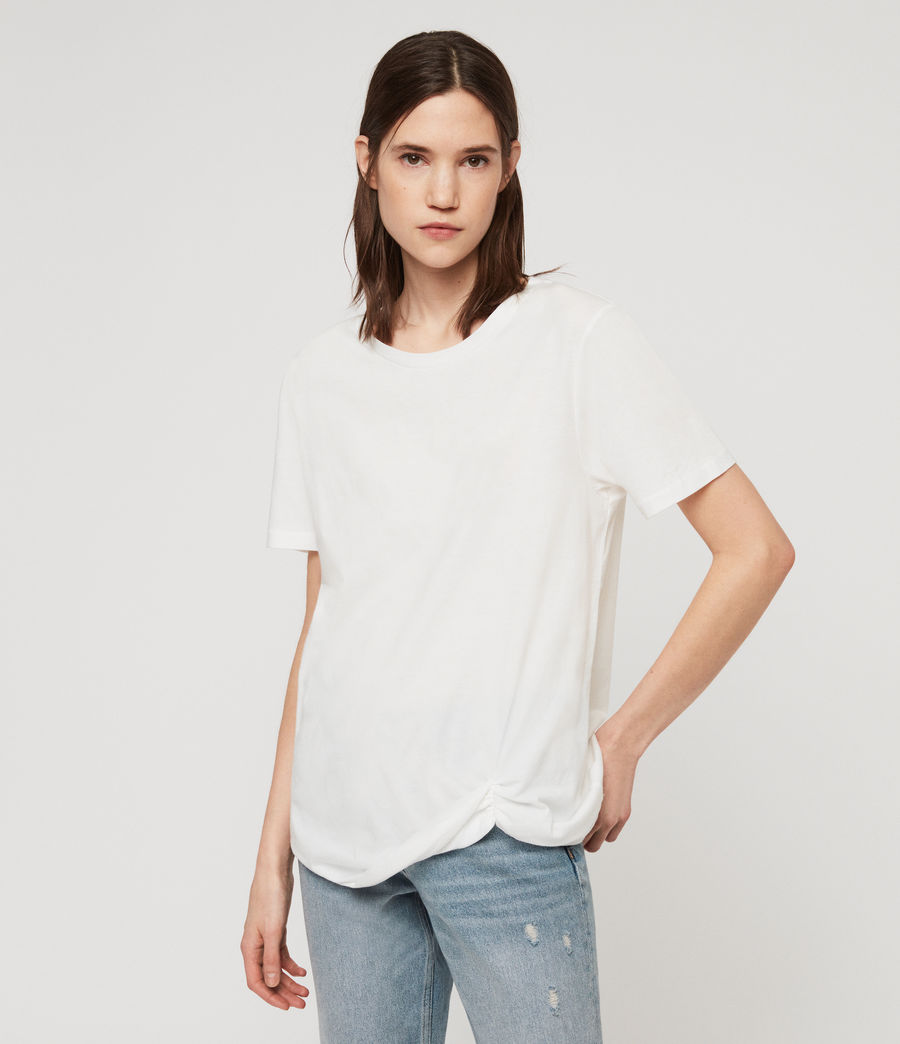 Damen Wilma T-Shirt (chalk_white) - Image 1
