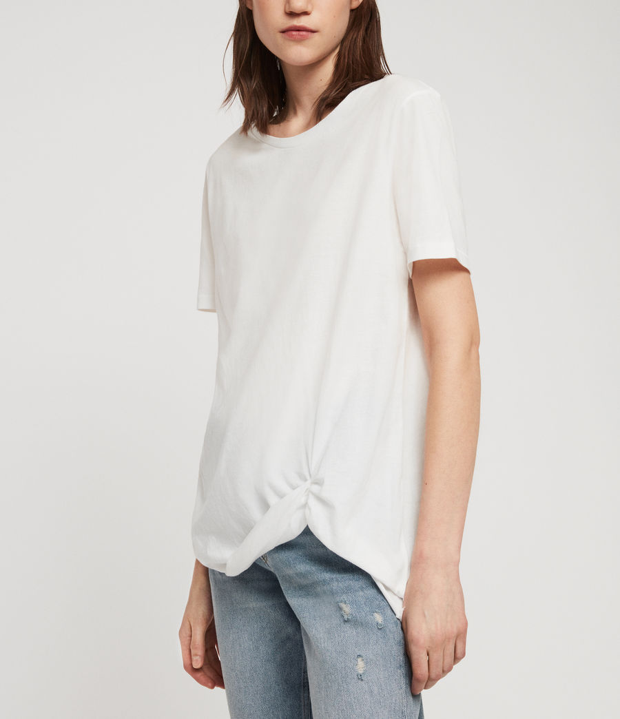 Damen Wilma T-Shirt (chalk_white) - Image 2