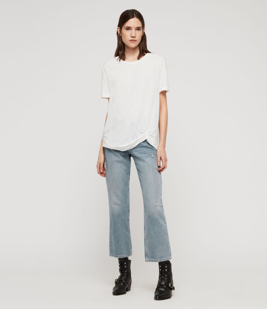Damen Wilma T-Shirt (chalk_white) - Image 3