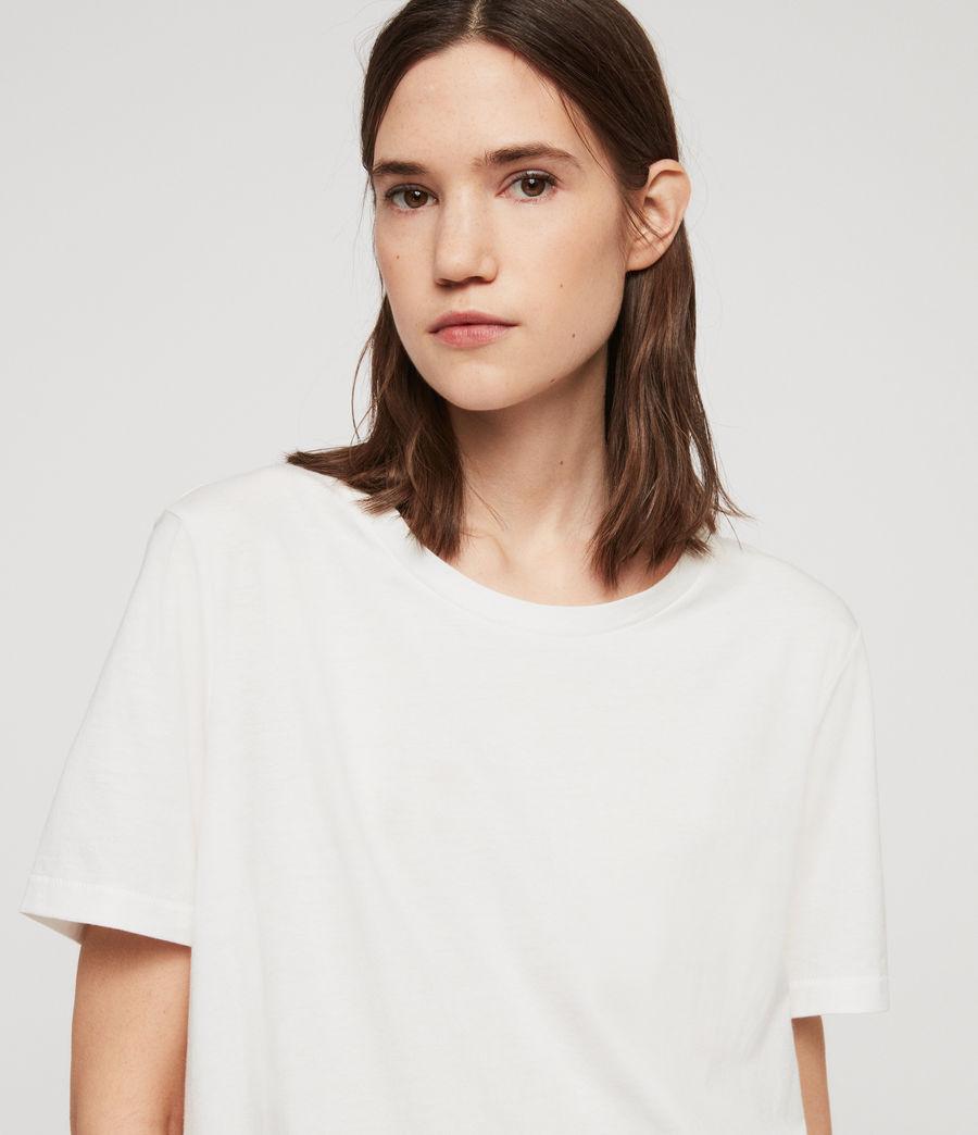 Damen Wilma T-Shirt (chalk_white) - Image 4