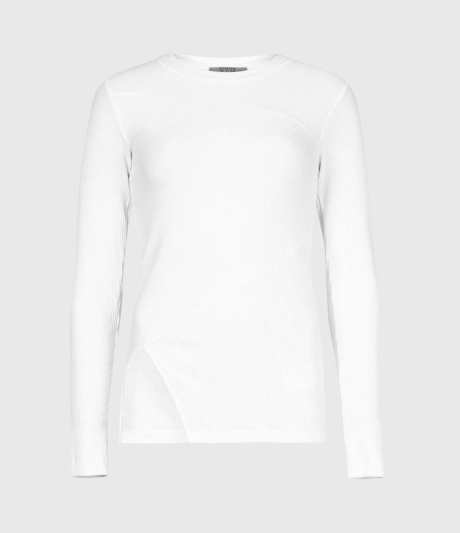 Women's Gia Long Sleeve T-Shirt (grey_marl) - Image 2