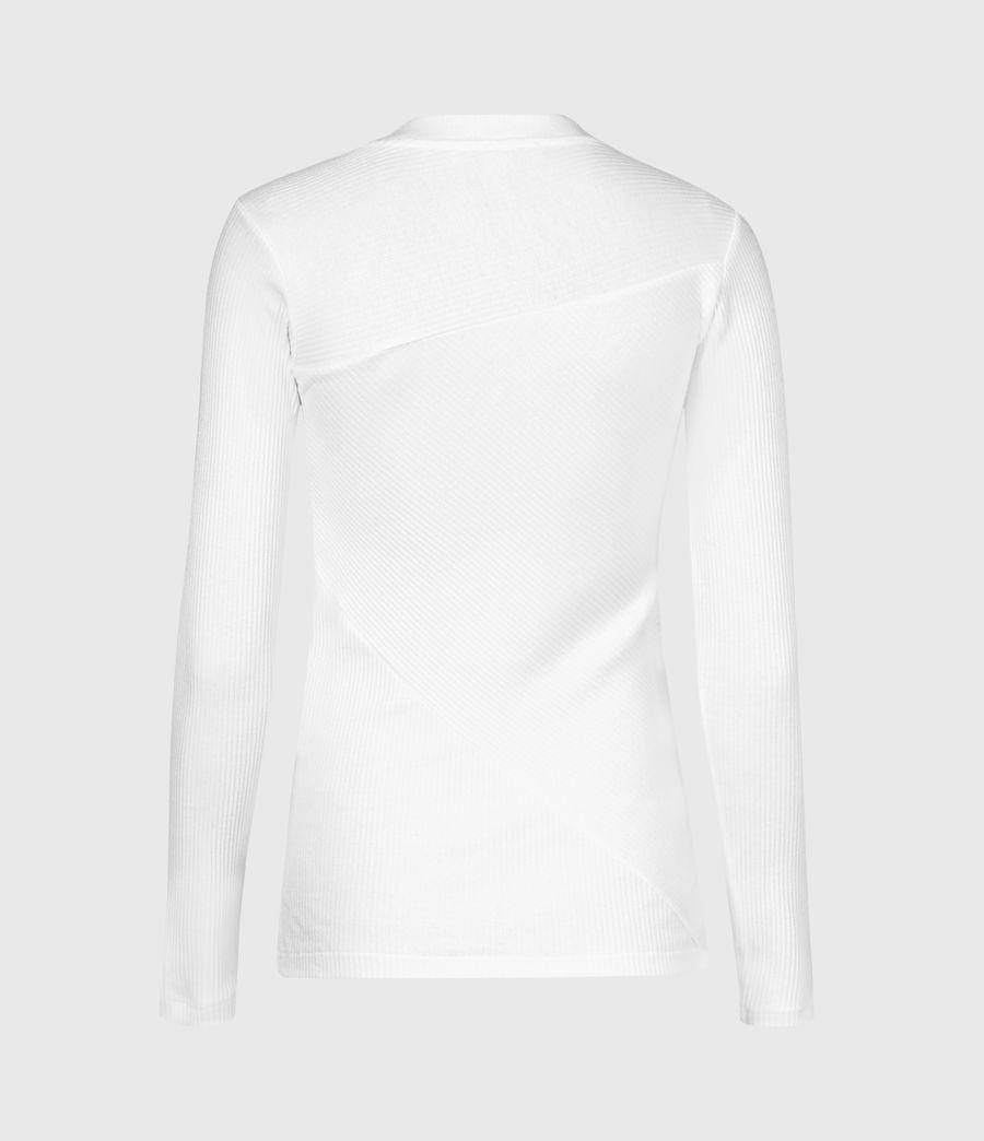 Women's Gia Long Sleeve T-Shirt (grey_marl) - Image 3