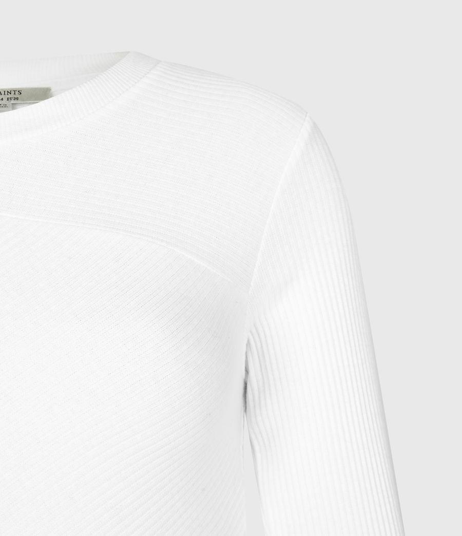 Women's Gia Long Sleeve T-Shirt (grey_marl) - Image 4