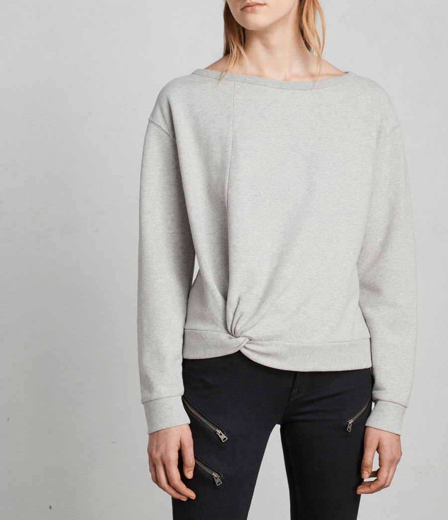 Women's Paloma Sweatshirt (grey_marl) - Image 4